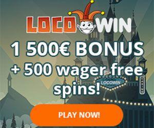 Latest bonus from Locowin Casino